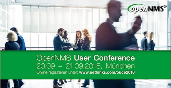 Jetzt noch anmelden - OpenNMS User Conference 2018 in München