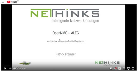 Webinar-Aufzeichnung- Alarm-Korrelation mit OpenNMS ALEC