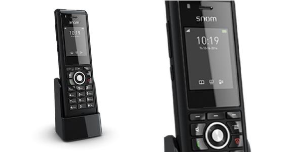 Industrial-Handset snom M85 sorgt für Sicherheit