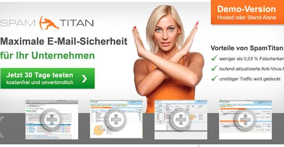 Maximale E-Mail-Sicherheit für Ihr Unternehmen - mit SpamTitan